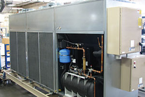 Built-In Chiller Redundancy to Minimize Process Downtime